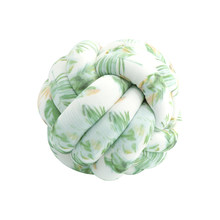 Soft Knot Pillow Ball Cushions Bed Stuffed Pillow Home Decor Cushion Ball Plush Throw Knotted Pillow(China)