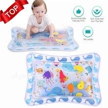 Alfombra inflable de PVC para juegos de agua para bebés, colchoneta gruesa para juegos de agua