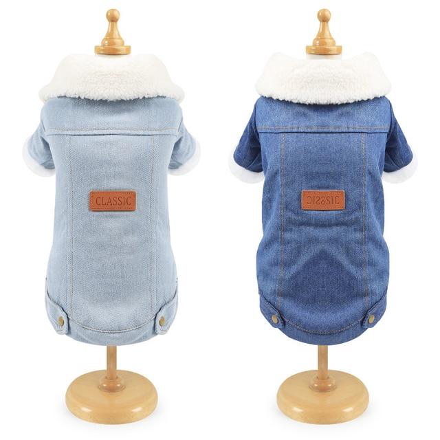 Fashion Fleece Lined Denim Jacket 2