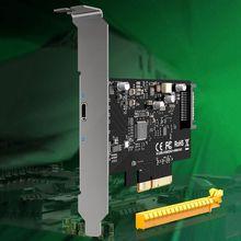 Raiser-Card 15pin-Connector PCIE Transfer-Usb3.1 Gen2 Type-C SATA ASM3242 20gbps X4 Usb 3.2