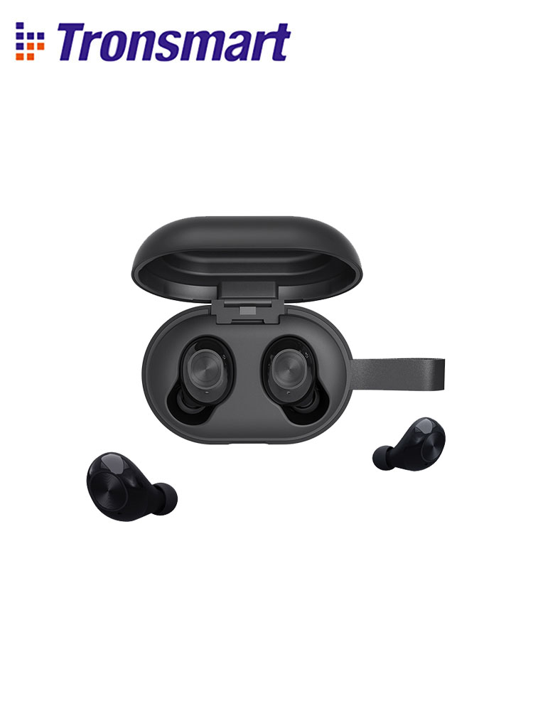 Newest Version  Tronsmart Spunky Beat TWS Bluetooth Earphone QualcommChip Tech APTX Wireless Earbuds with CVC 8 0