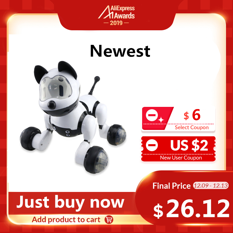 MG010 Voice Control Smart Robot Dog Free Mode Sing Dance Electronic Dog Robot Indoor Outdoor Kids Educational Fun To Play Toys