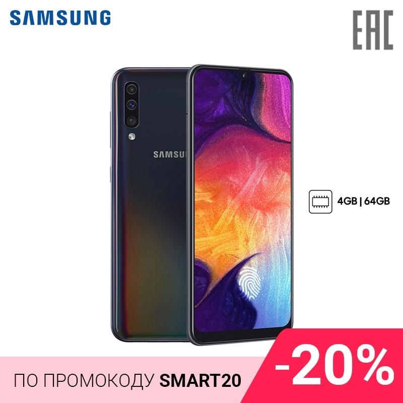 Smartphone Samsung Galaxy A50 4+64GB (2019) Newmodel