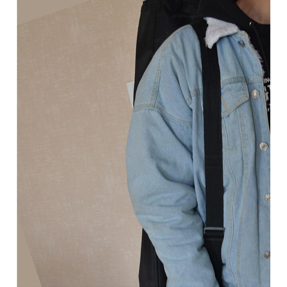 Oxford Cloth Solid Waterproof Longboard Adjustable Shoulder Black Travel Backpack Accessories Skateboard Bag Wear Resistant
