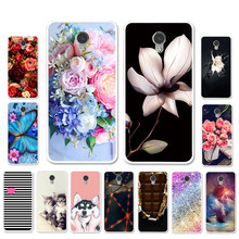 Ojeleye DIY Patterned Silicon Case For ZTE Blade V7 Lite Case Soft TPU Cartoon Cover For ZTE V7 V6 Plus Covers Anti-knock Shell(China)