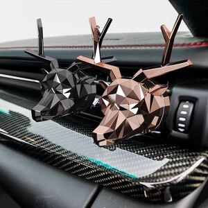 Image 1 - No Box No Profumo Fresco di Disegno Dei Cervi Bulldog Bevanda Rinfrescante di Aria Auto Profumo Buon Odore per Auto Diffusore Auto Aromatizzanti