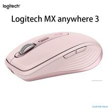 Logitech MX ANYWHERE 3 kablosuz fare Bluetooth iş ofis bilgisayarlar kompakt yüksek performanslı fareler