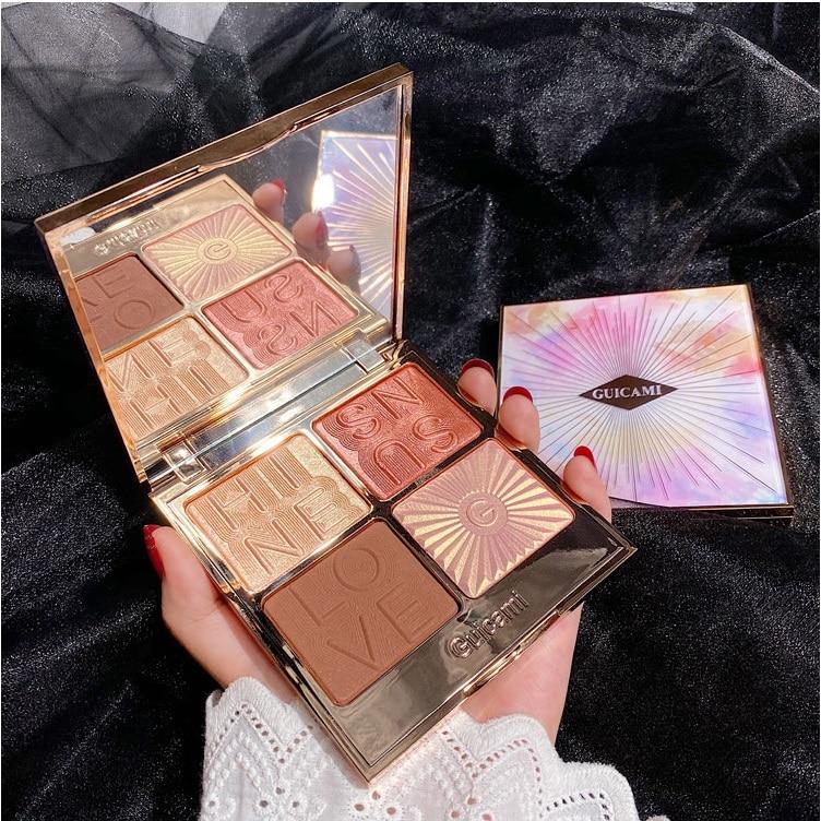 Illuminator Bronzer Makeup Palette