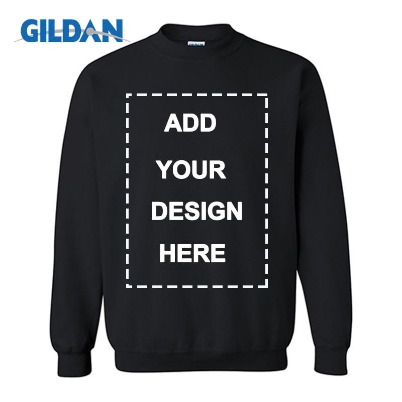 Custom Solid Sweatshirts Spring Autumn Fashion Hoodies Male Large Size Warm Fleece Coat Men Brand Hip Hop Hoodies Sweatshirts