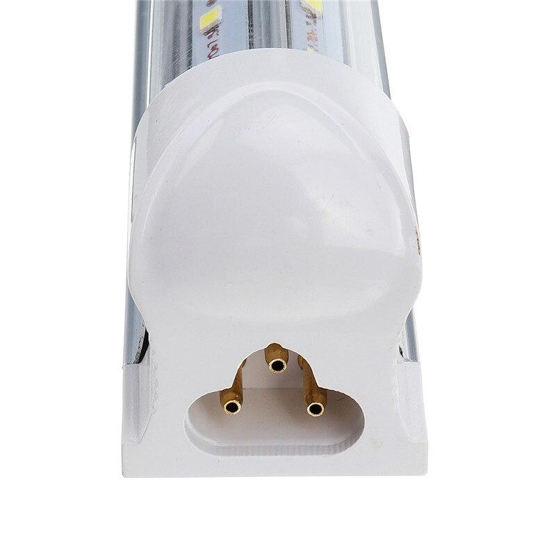 10 шт. светодиодный трубки T8 свет лампы 36 Вт 100LM/W Интегрированный Проходная втулка 120 см 4ft 300 мм T8 светодиодный Потолочные светильники SMD 2835 освещения холодный белый 85 265V - 4