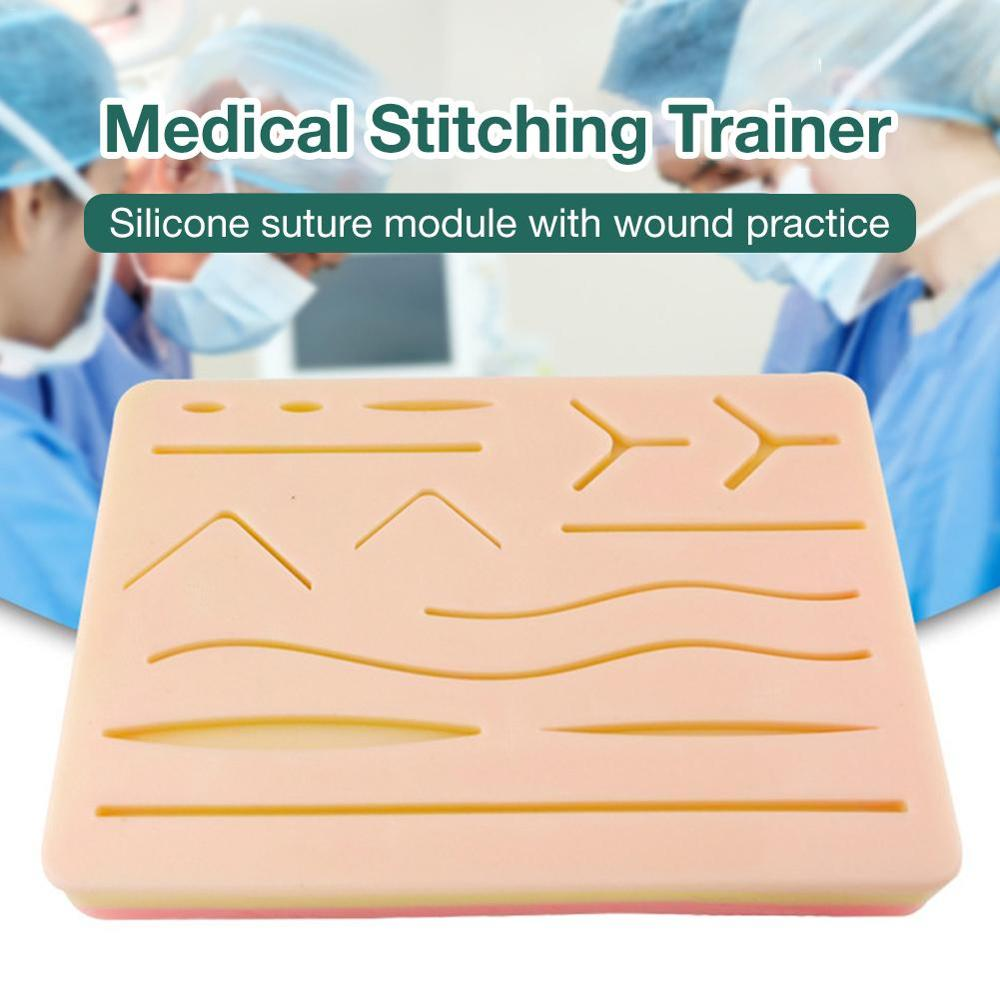 Medical Skin Suture Surgical Training Kit Pad Wound Suture Module Suture Pad Trauma Accessories For Practice And Training Use