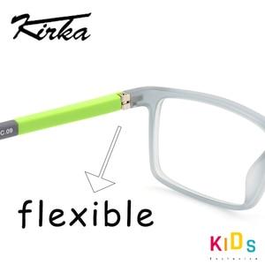 Image 4 - Kirka lunettes TR90 montures de lunettes pour enfants, montures de verre Flexible, doux, optique