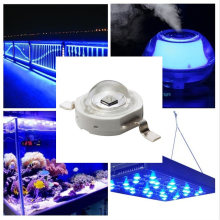 3W Money Detector Emitter Aquarium Light Lamp Beads High Power Multifunctional Led Reconnoissance UV Golden Wire Ultraviolet Ray(China)
