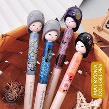M & g Новинка kawaii 4 шт/лот 05 мм гелевая ручка для куклы