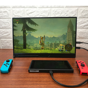 13.3 Inch 4K Portable HDR Monitor For Computer NUC Phone Game Console PS4 Xbox NS Switch Multi Function Type-c LED HD Screen 2
