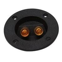 Caixa de som estéreo para carros  terminal  copo redondo  subwoofer  plug  drop shipping