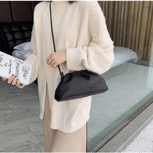 Image 4 - [BXX] بلون بولي Leather حقائب جلدية Crossbody للنساء 2020 سيدة الكتف حقيبة ساعي حقائب اليد الإناث ومحفظة أنيقة fj161