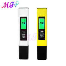 Backlight TDS Meter TDS/EC/Temperature Meter Digital Water Quality Monitor Tester for Pools Drinking Water Aquariums