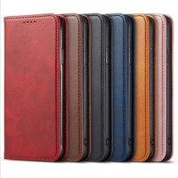Funda de cuero tipo billetera con tapa para hombre de negocios, nuevo diseño, estilo libro, para OPPO A55, A53S, A72, A73, A53, A93, A74, A54, A94, A95, A35, F19