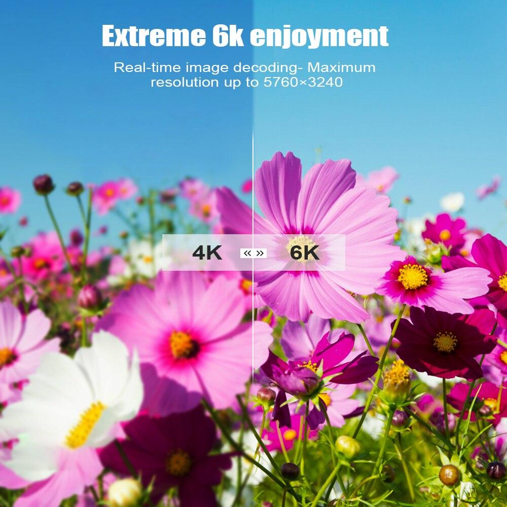 Image 2 - X96 H Mi ni Smart tv Box Android 9,0 IP tv MI телеприставка 6K 2gb 4gb 16gb 32gb 64gb четырехъядерный медиаплеер PK HK1 MAX H96 A95X-in ТВ-приставки from Бытовая электроника