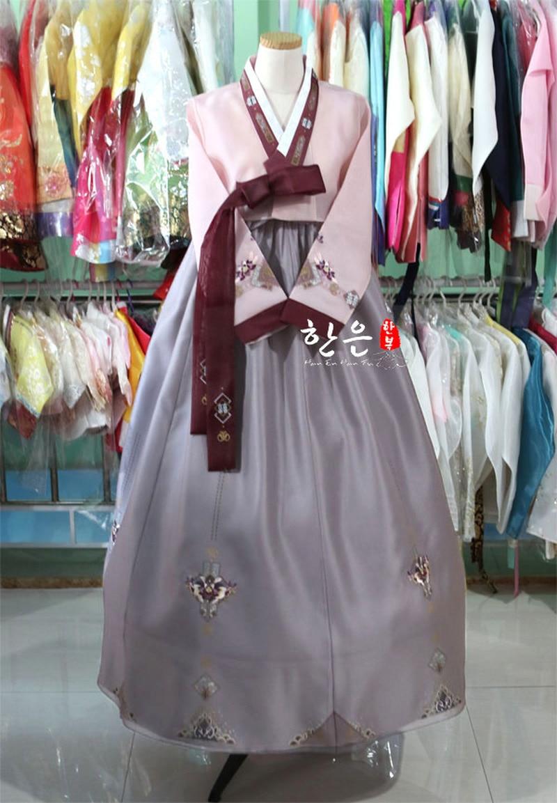 Korea Imported Fabric / Mother Hanbok / Korean Traditional Clothing / Korean Hanbok /