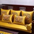 Китайские традиционные Чехлы для подушек с вышивкой  Шелковый чехол для подушек  чехлы для стульев