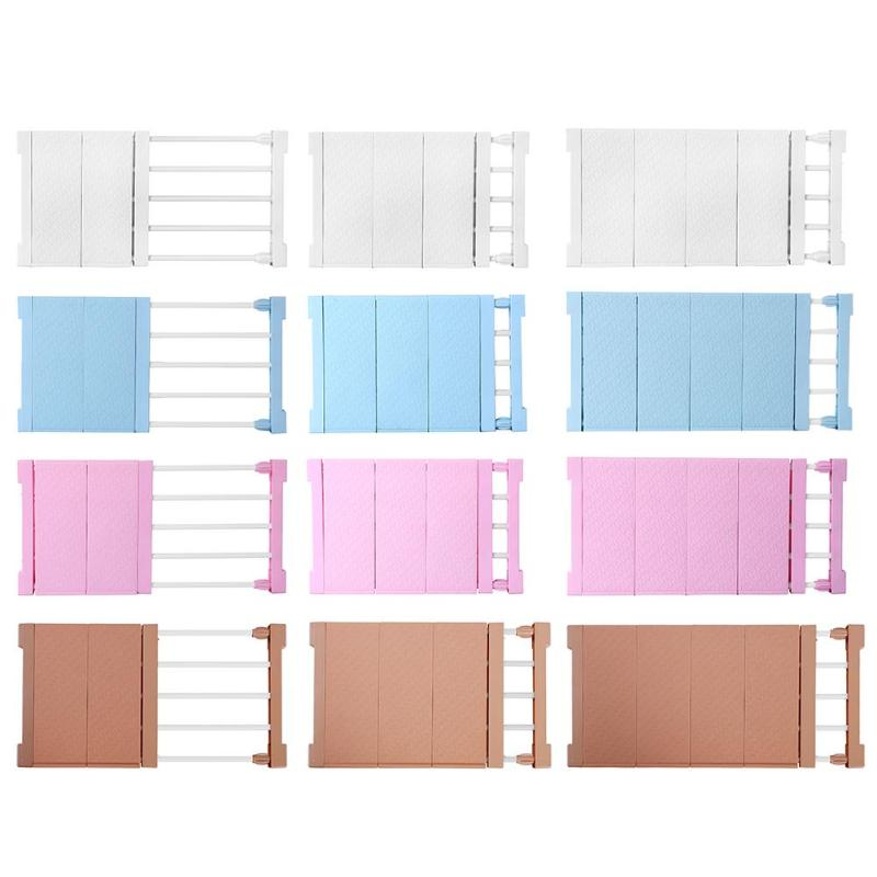 New Adjustable Closet Organizer Storage Shelf Wall Mounted Kitchen Rack Space Saving Wardrobe Decor  Shelves Cabinet Holders
