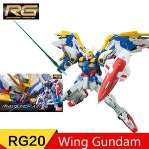 Image 4 - BANDAI RG 1/144 Collection STRIKE FREEDOM GUNDAM Gundam Astray JUSTICE GUNDAM Collection Action Toy Figures Christmas Gift