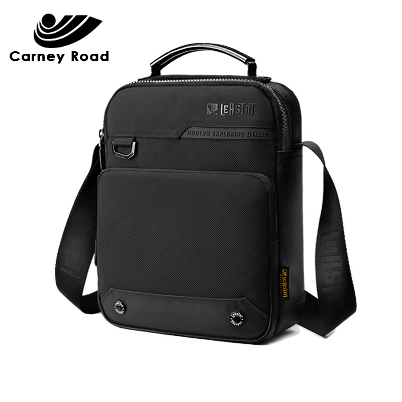 Brand New Business Men Handbag Messenger Bag Multi-function Man's Crossbody Shoulder Bag  Oxford Waterproof