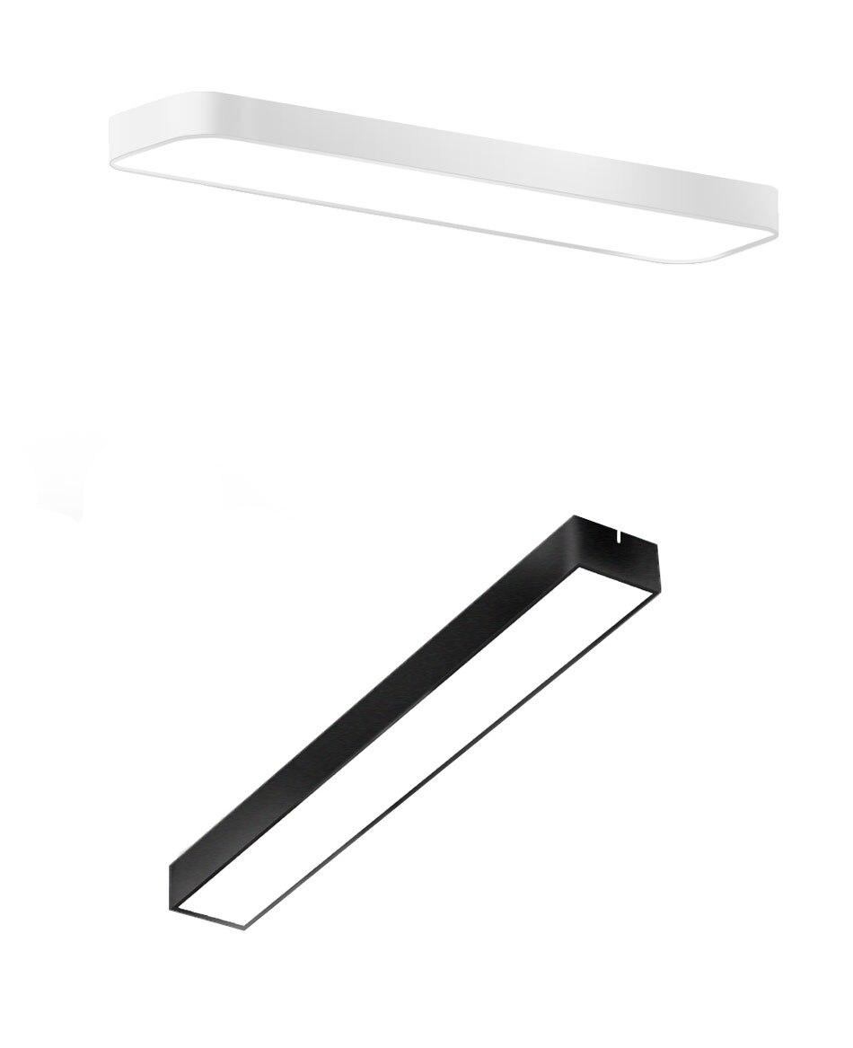 Hdcb9811cf5e94cc487ab4027655e53aaT Modern LED Ceiling Light Lamp Lighting Fixture Rectangle Office Remote Bedroom Surface Mount Living Room Panel Control 110V 220V