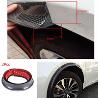 Universal 150cm*2 Car Fender Flares Extension Wheel Eyebrow Protector Lip Moulding