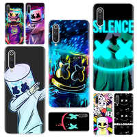 luxury DJ marshmallow Phone Case For Redmi 4 4A 4X 5 5A 6 6A 7 Y3 7A 8 K20 K30 S2 Y3 Note 4 5 6 7 8 5 Plus Phone Cover
