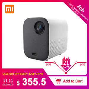 Xiaomi Projector-Mount TV Mini Portable Home MIUI 1080p Wifi for HDR10 500 ANSI Lumens