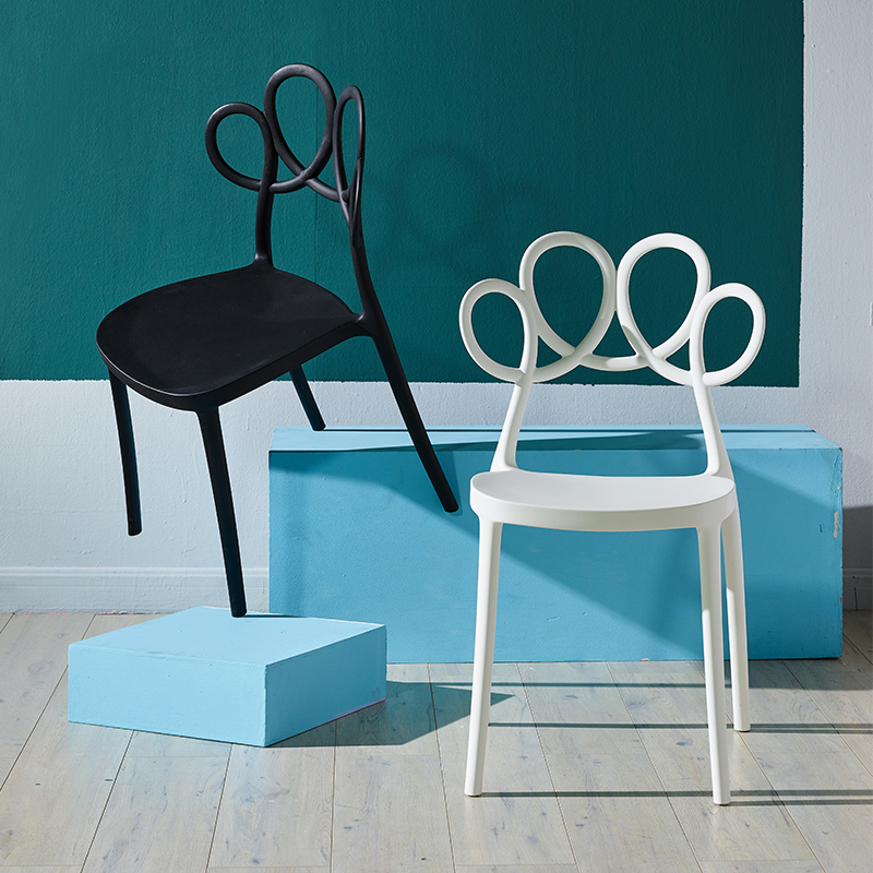 Modern Creative PP Plastic Chairs Dining Chairs For Dining Rooms Restaurant Furniture Living Room Computer Kitchen Dining Chairs