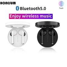 Honesum TW40 Bluetooth  блютуз наушники V5.0 Bluetooth Earphones fone de ouvido  Earphones наушники беспроводные With airdots цена 2017