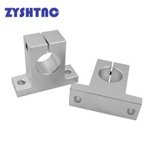 4pcs SK8 SK10 SK12 SK16 SK20 SK25 SK30 SK35 linear bearing rail shaft Support Linear Shaft Linear Rod CNC Router 3D printer Part