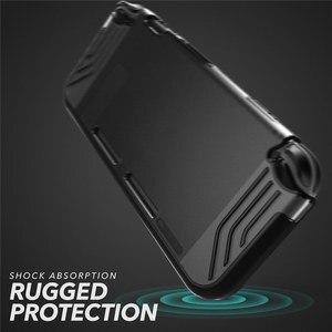 Image 2 - Pour Nintendo Switch Case Mumba Slimfit série Premium mince clair hybride étui de protection couverture pour Nintendo Switch 2017 libération