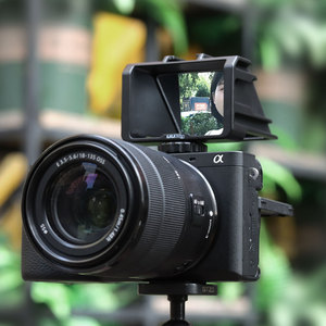 Image 3 - Uurig Camera Periscope Flip Screen Beugel Voor Sony A6000 A6300 A6500 A7III A7R3 RX100 Nikon Z6 Z7 Canon Panasonic Fuji