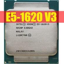 Процессор Intel Xeon E5 1620 V3 для ПК, 4 ядра, 3,5 ГГц, 140 Вт