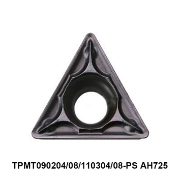 Original Tungaloy TPMT090204-PS TPMT090208-PS TPMT110304-PS TPMT110308-PS AH725 Carbide Inserts Lathe Tools Turning Cutter CNC фото