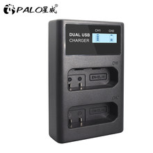 EL14 – chargeur double LCD, pour Nikon P7800, P7100, D3400, D5500, D5300, D5200, D3200, D33, 14 EN-EL14A EN-EL14