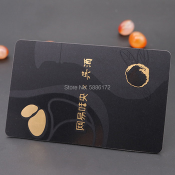 Hot Sale 100% Full Inspection Fast Delivery Black PVC VIP Visiting Card Manufacturer in China sale 100