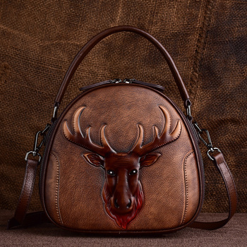 2020 New Vintage Crossbody Bags Designer For Luxury Handbags Women Genuine Leather Handbag Animal Print Tote Female Shoulder Bag ly shark women bag ladies genuine leather handbag shoulder female crossbody bags for women luxury handbags women bags designer
