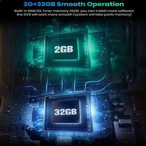 """Image 5 - WHEXUNE 4CH kameralar lens 10 """"Android Navi araba kamera FHD 1080P gps dikiz aynası ADAS WIFI dvr sürücü kaydedici RAM 2GB + ROM 32G"""