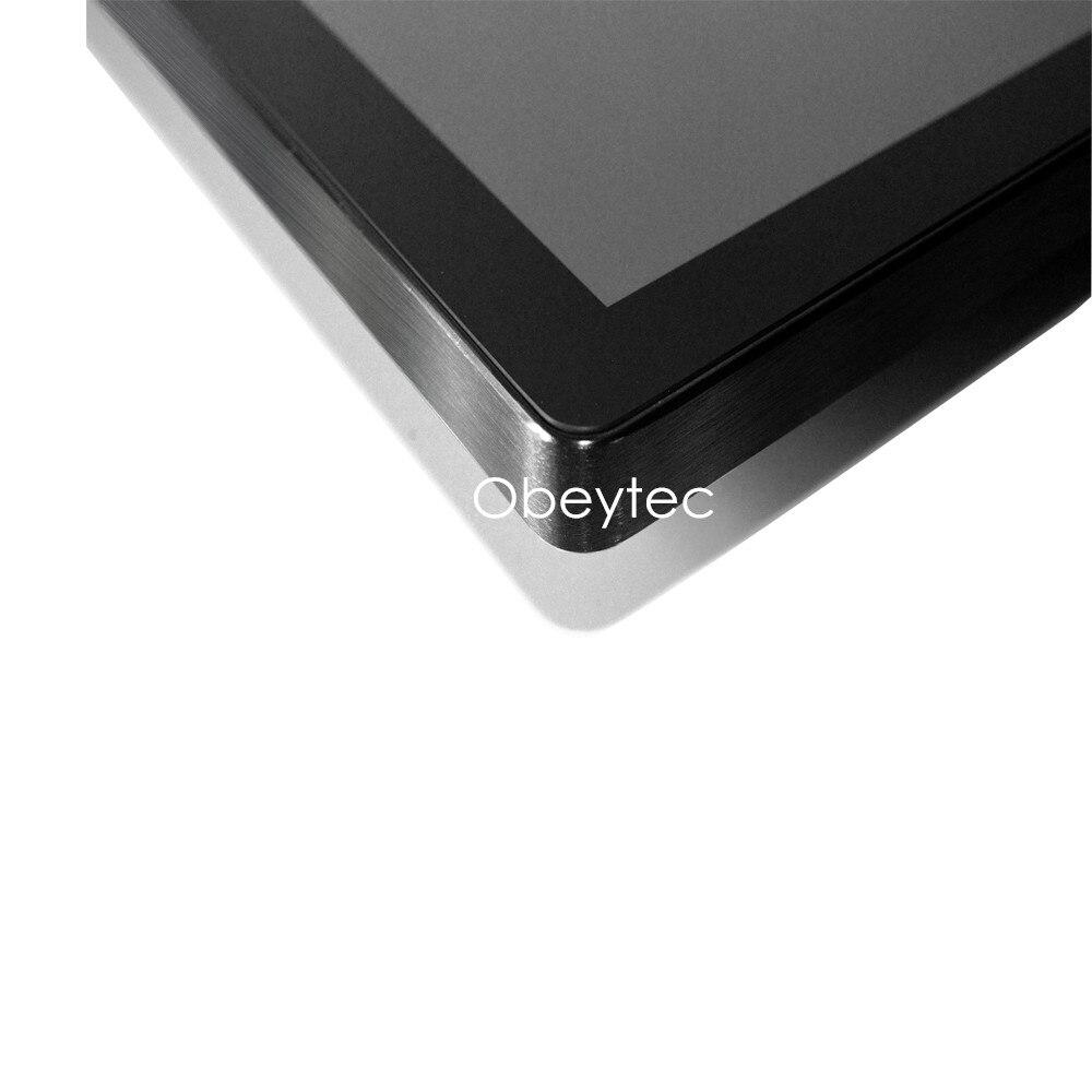 Ordenador de pantalla táctil integrado/montado en la pared de 13,3 pulgadas para punto de venta, 1366*768, 200 nits, sistema android, OB TPCR 133, soporte personalizado - 4