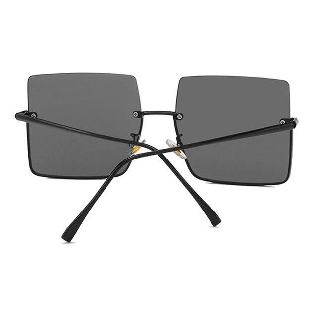 Sunglasses Women Luxury Sun Glasses Retro Brand Square  5