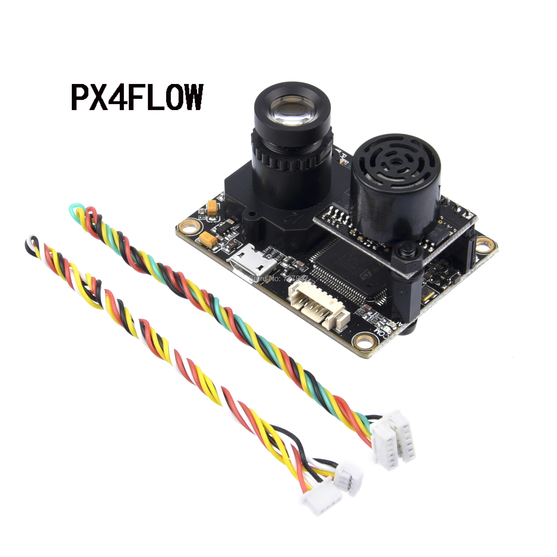 PX4FLOW V1.3.1 PIX Optical Flow Sensor Smart Camera With MB1043 Ultrasonic Module Sonar For PX4 PIX Pixhawk Flight Control