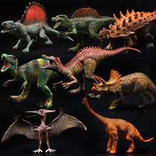 Action&Toy Figures Jurassic Wild Life Dinosaur Toys Tyrannosaurus Rex World Park Dinosaur Model for Kids Boy Gift