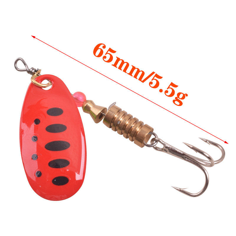 WDAIREN: Spinner Fishing Lure Spoon  3