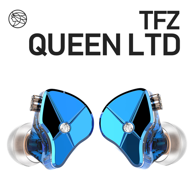 De Geurige Citer Tfz Queen Ltd 2Pin Interface Metal In Ear Monitor Hifi Koptelefoon 3.5Mm Sport Muziek Dynamische Oortelefoon s2 S7